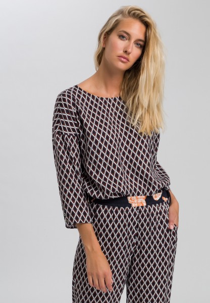 Blouse in the pattern mix