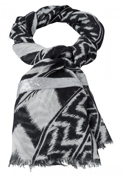 Rectangular cloth with ethno-print
