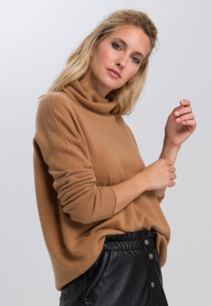 Oversized sweater with Cashmere