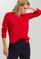 Long sweater With side vents