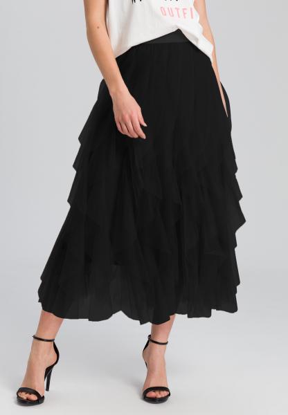 Maxi skirt in ballerina style