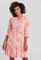 Blouse dress with Batik print