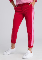 Chinese pants with side stripes