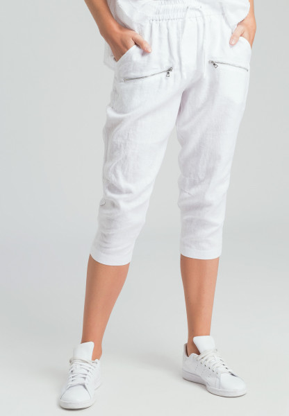 Capri pants linen casual
