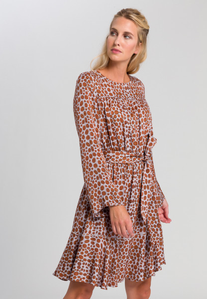 Dress With printed spots
