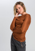 Shirt With asymmetrical draping