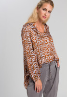 Tunic With printed spots