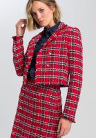 Blazer in Tweed-style