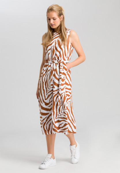 Dress with tiger pattern