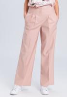 Pleat-front trousers in an elegant linen look