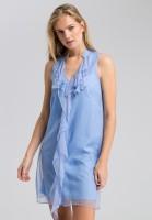 Dress ruffled