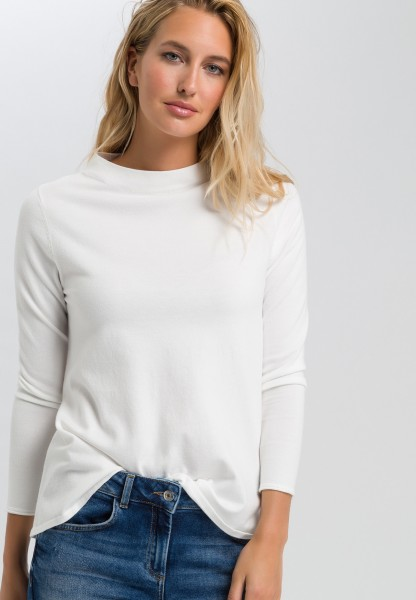 Jumper in A-line with turtleneck