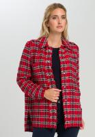 Shirt Jacket in Tweed-style