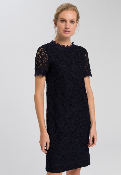 Dress of embroidered lace
