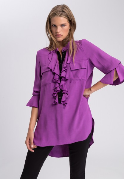 Blouse in viscose