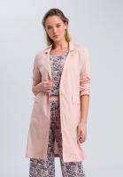 Long blouse coat-look