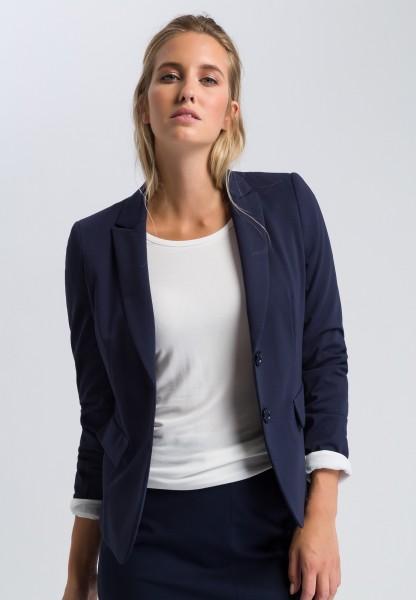 Blazer with decorative flap pockets