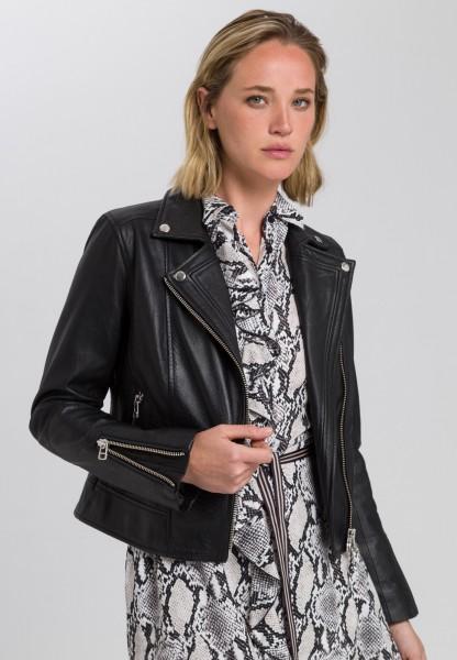 Leather jacket nappa leather