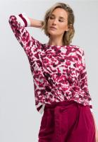 Sweaters with batik print