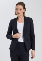 Blazer with a leo pattern on the inside