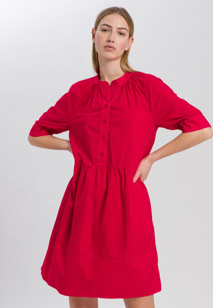 Shirt Dress with 3/4-cuffed sleeves