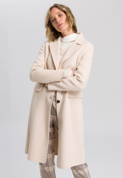 Blazer Coat in double face processing