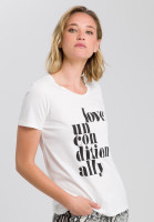 Shirt with text printing