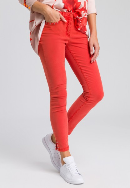 Jeans with stud details