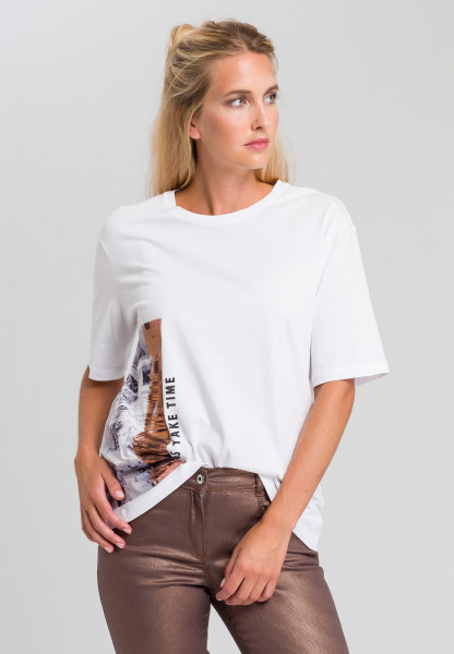 T-shirt In oversized look