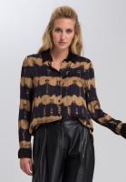 Shirt blouse With batik stripes