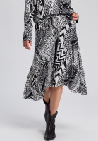 Rock in ethnic print