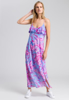 Maxi dress with floral design