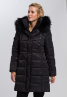 Outdoor coat With real fur