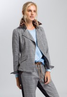 Blazer in glenchek pattern