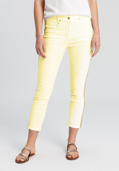 5-pocket trousers with typo band on the sides