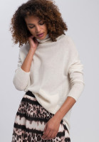 Oversize jumper made from wool and cashmere
