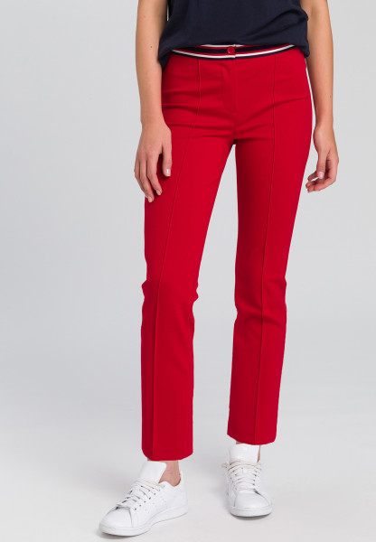 Pants With striped cuffs