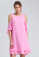 Dress with cut-out-shoulder