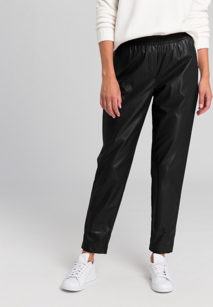 Jog Pants in leather look