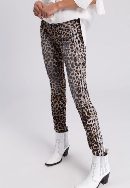 Pants with allover print