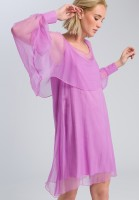 Chiffon dress transparent