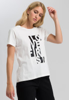 T-shirt with striking front print