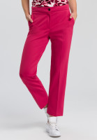 Jersey pants with shortened leg
