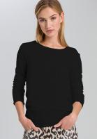 Basic sweater high-rib