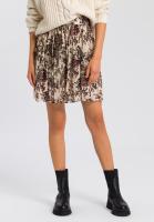 Skirt with paisley print