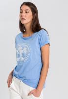 T-shirt with rhinestones