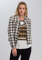 Blazer jacket in Tweed-style
