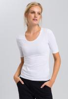 Basic shirt with short sleeves