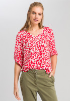 Tunic with leopard pattern