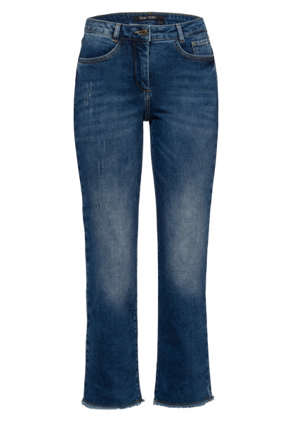 Jeans with leg flared